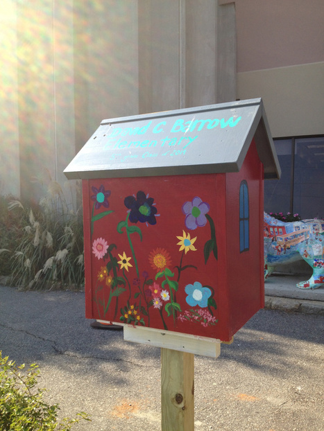 Little Free Libraries Open for Business | School Librarian As Building Leader | Scoop.it