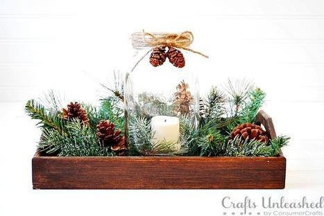 10 Mason Jar DIY Projects For Christmas Holiday | #thingsilove @dealiciousitalian.com | Scoop.it