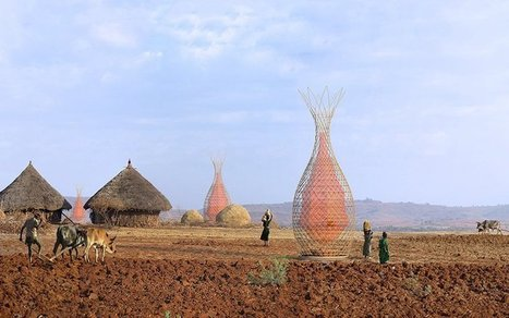 This Tower Pulls Drinking Water Out of Thin Air | Food Security, Permaculture, & Environment | Scoop.it