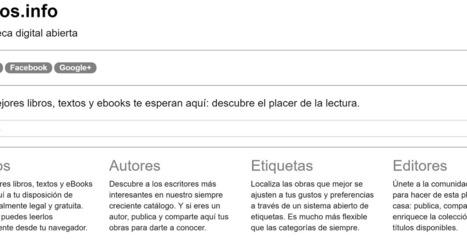 Textos.info: Biblioteca digital abierta, legal y gratuita @textos_info | Educacion, ecologia y TIC | Scoop.it
