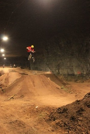 Mega Underground Bike Park is for cyclists who are deeply into riding   Government cancer treatment   Scoop.it