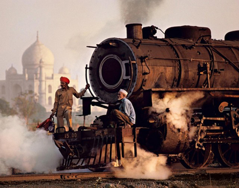 India by Train Photographed by Steve McCurry | Miscmisc | Scoop.it