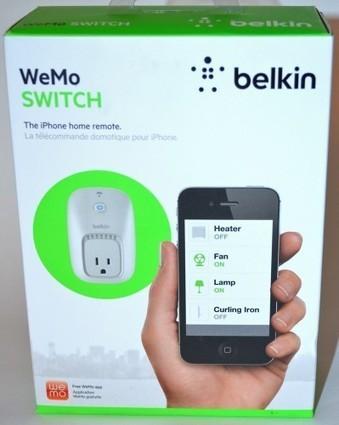 Belkin WeMo Smart Home Automation Switch review - The Gadgeteer   Geek Tech   Scoop.it