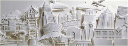 20 Incredible Paper Sculptures by Jeff Nishinaka | inspirationfeed.com | Visual Inspiration | Scoop.it