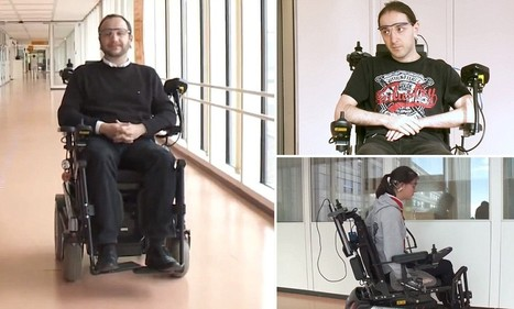 Scientists' invention helps disabled people steer wheelchairs by ears | ICT | Scoop.it