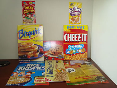 CARDBOARD FOOD BOXES | Ideas for Art Projects in Schools | Scoop.it