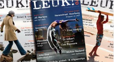 Magazine Leuk!070 als antwoord op online informatie-overload   BlokBoek e-zine   Scoop.it