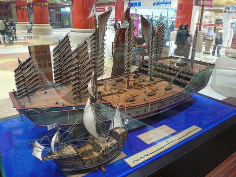 Zheng He's Ships   Ming Treasure Junks   Year 4 History: First Contacts - Zheng He   Scoop.it