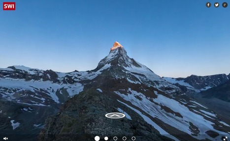 SWI - Explore the Matterhorn in virtual reality | Interactive & Immersive Journalism | Scoop.it