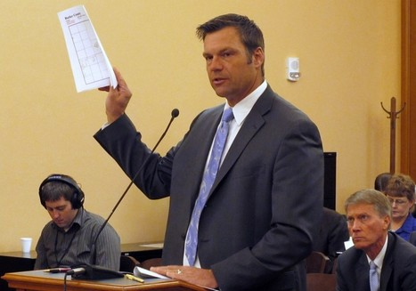 The 3 People Being Prosecuted For Voter Fraud In Kansas | Election by Actual (Not Fictional) People | Scoop.it