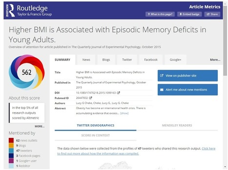 Putting Altmetric data to use: an introduction for journal editors | Research Tools Box | Scoop.it