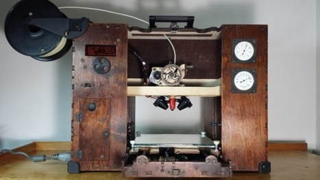 Jules Verne Needed This Gorgeous Steampunk 3D Printer | Research_topic | Scoop.it