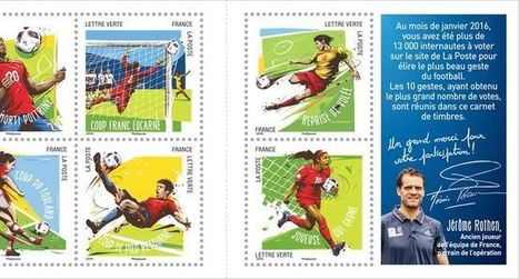 La Poste invente le timbre en réalité augmentée pour l'Euro de football   Les Postes et la technologie   Scoop.it