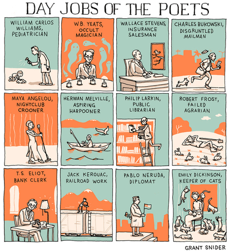 INCIDENTAL COMICS: Day Jobs of the Poets | About Books | Scoop.it
