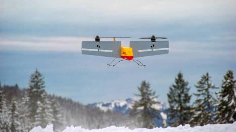 Drones : les facteurs de demain volent déjà... de manière autonome   La Transition sociétale inéluctable   Scoop.it