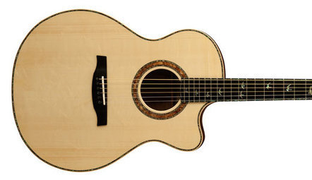 PRS Guitars Introduces the Private Stock Alex Lifeson Thinline Acoustic - Premier Guitar | Acoustic guitars | Scoop.it