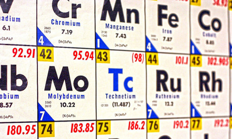 The periodic table is finally complete - Futurity | MedBioChemEducation | Scoop.it