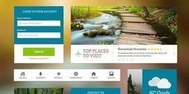 20 packs UI kits gratuits et complets pour vos créations web - ressources | Web Marketing : Tendances, Chiffres, Infos | Scoop.it