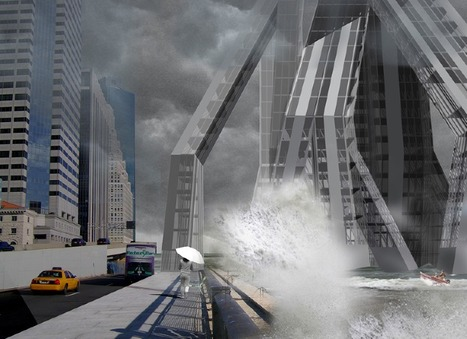 Skygrove: NYC Architects Reimagine Office Building for World of Water | Biomimicry | Scoop.it