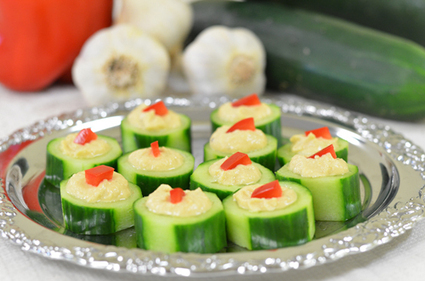 How to Make Cucumber Appetizers   Food, Health, Recipes and Tips   Scoop.it