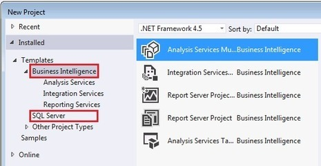 Business Intelligence in SQL Server 2014 - SQL Server Data Tools (SSDT) - User Ed - The blog of Ed Price, Customer Program Manager - Site Home - MSDN Blogs | Business Intelligence | Scoop.it