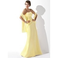 [US$ 142.99] A-Line/Princess Strapless Floor-Length Satin Bridesmaid Dress With Ruffle Lace (007001807) | lovely girl | Scoop.it