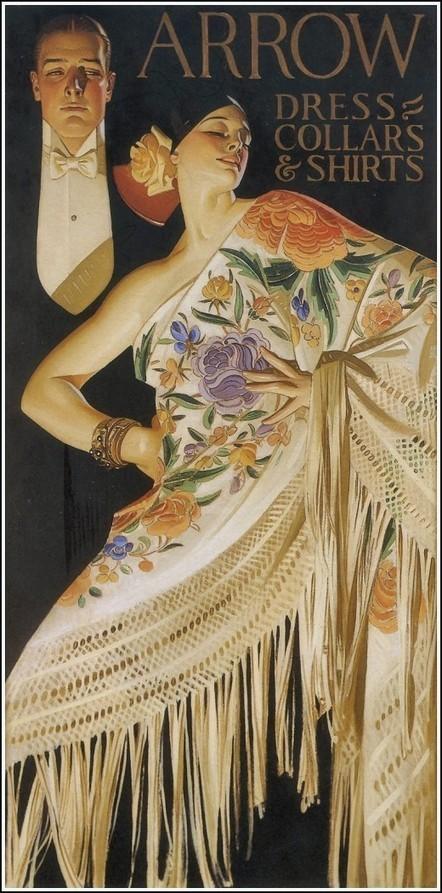 Arrow Collar Man, 1920s JC Leyendecker Beautiful Illustrations | A Cultural History of Advertising | Scoop.it
