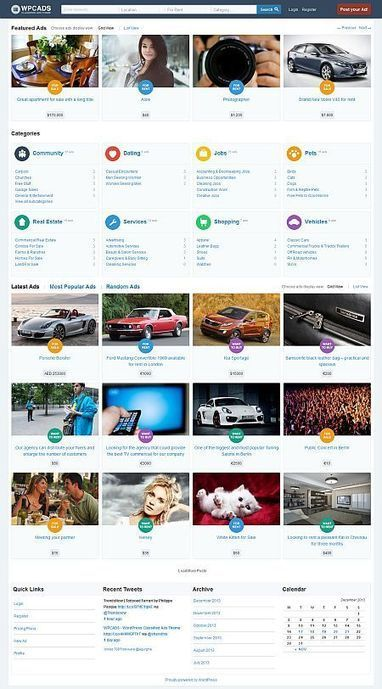 WPCADS – WordPress Classified Ads Theme   Premium iThemes   Themes & Templates   Scoop.it