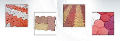 Interlocking Paver Tile | Pavar blocks manufacturer in Delhi | Scoop.it
