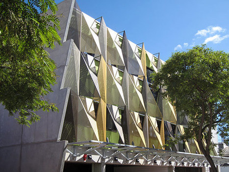 Unique Solar Protection + A Dynamic Facade in Australia | Digital-News on Scoop.it today | Scoop.it