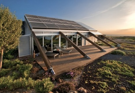 Bioclimatic House in the Canary Islands, Spain | PROYECTO ESPACIOS | Scoop.it