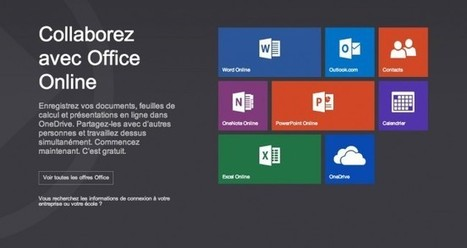 Microsoft Office Online s'améliore et s'invite sur le Chrome Web Store * AnglohaTech | AnglohaTech | Scoop.it