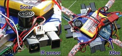 ArduIMU : Un drone DIY quadricoptère à base d'un kit Arduino | Semageek | La technologie au collège | Scoop.it