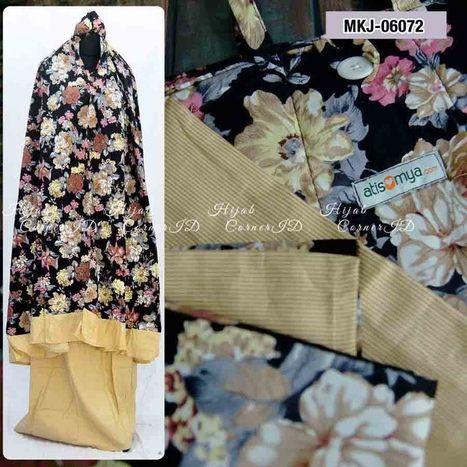 Mukena Katun Jepang MKJ-06072 | Atisomya Hijab | Scoop.it