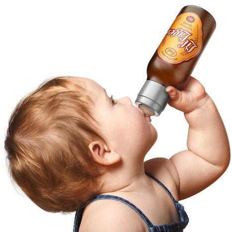 Biberon bouteille de bière - Geek | News geek | Scoop.it