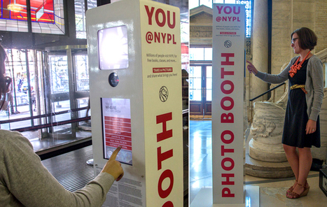 NYPL Sets Up Photobooths For Library Selfies | innovative libraries | Scoop.it