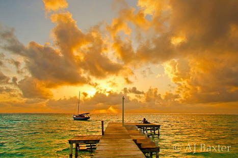 Sunrise on Paradise Dock, Ambergris Caye - Picture Belize | Belize in Photos and Videos | Scoop.it