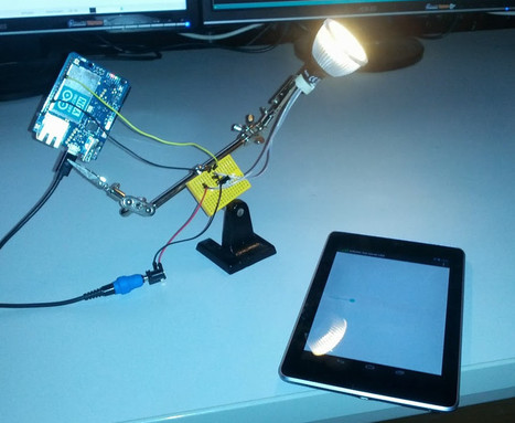 Home Automation with Android and Arduino Yún | Using Android in ... | Arduino, Netduino, Rasperry Pi! | Scoop.it