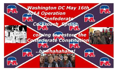 Operation American Spring:  The Confederate Cockroaches coming to DC ah? | Why Conservatives Love Guns So Very, Very, VERY Much? | Scoop.it