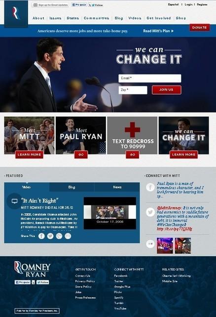 La estrategia on-line de Mitt Romney « Bogando por la red   LA INFLUENCIA DE LOS MEDIOS SOCIALES EN LAS ELECCIONES DE EEUU   Scoop.it