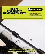 Killer investment banking resumes! | Get that job! E-books | Scoop.it