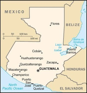 Map of Country | Guatemala, amber hertzler | Scoop.it