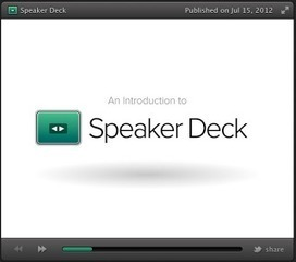 Speaker Deck- A Good Presentation Tool for Teachers | Time to Learn | Scoop.it