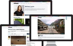 Vimeo Goes Large- Redesign Puts Focus On Content . . .   Social Media Bites!   Scoop.it
