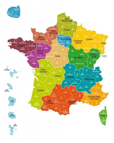 La carte définitive des 13 régions de France adoptée à l'Assemblée   oenotourisme   Scoop.it