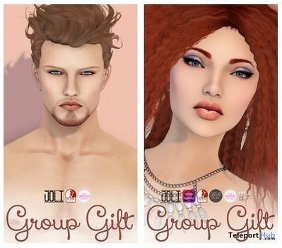 Satine Female and Renly Male Skin Mesh Body Ready Group Gift by JOLI | Teleport Hub - Second Life Freebies | Second Life Freebies | Scoop.it