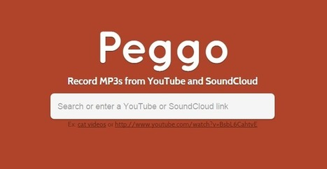 Peggo, para bajar canciones de Youtube y Soundcloud | Educacion, ecologia y TIC | Scoop.it