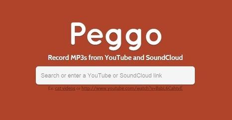 Peggo, para bajar canciones de Youtube y Soundcloud | Educacion, ecologia y TIC | Scoop.it