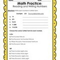 Reading and Writing Numbers in Expanded Form, Standard Form and Written Form   Free Elementary Worksheet Printables   Scoop.it