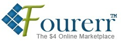 Fourerr.com | The $4 Online Marketplace | Today's 10 Best Work-At-Home Jobs | Scoop.it